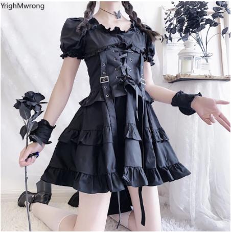 Платье в стиле Dark Harajuku